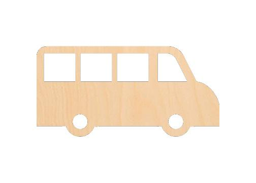 Bus - Laser Cut Shapes - Sports-Vehicles