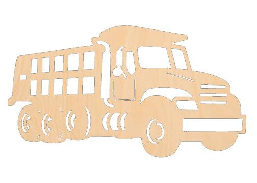Construction Truck - Laser Cut Shapes - Sports-Vehicles
