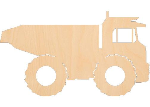 Dump Truck - Laser Cut Shapes - Sports-Vehicles