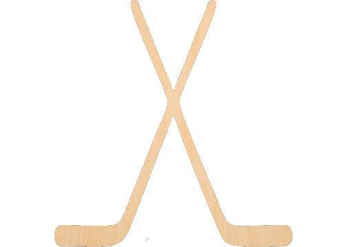 Hockey Sticks - Laser Cut Shapes - Sports-Vehicles