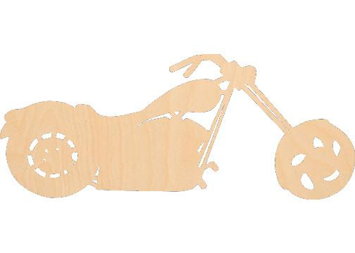 Motorcycle 3 - Laser Cut Shapes - Sports-Vehicles