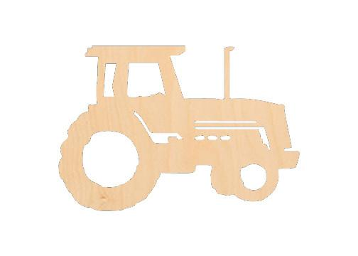 Tractor - Laser Cut Shapes - Sports-Vehicles