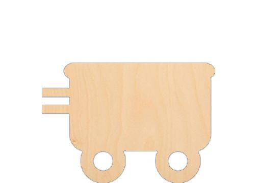 Train Car - Laser Cut Shapes - Sports-Vehicles