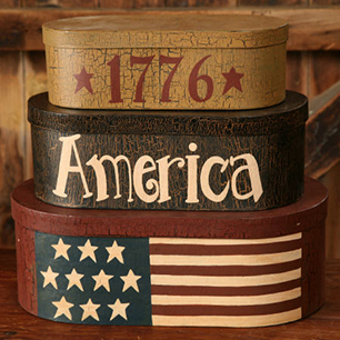 Decorative Ceramic Tile Patriotic Collection - PAT 0016 - Single Ceramic Tile - Wicked Good Candle and Decor - 1