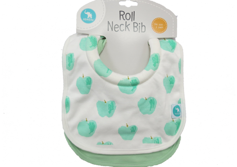 Bib Roll Neck Apple