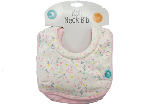 Bib Roll Neck Floral