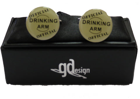 Cufflinks Drinking Arm