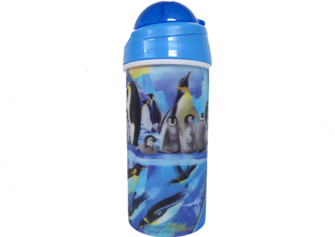 Drink Bottle Penguin Plunge