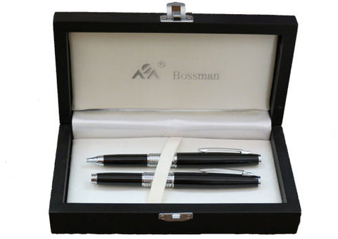 Pen Black Set with Ballpoint and FC