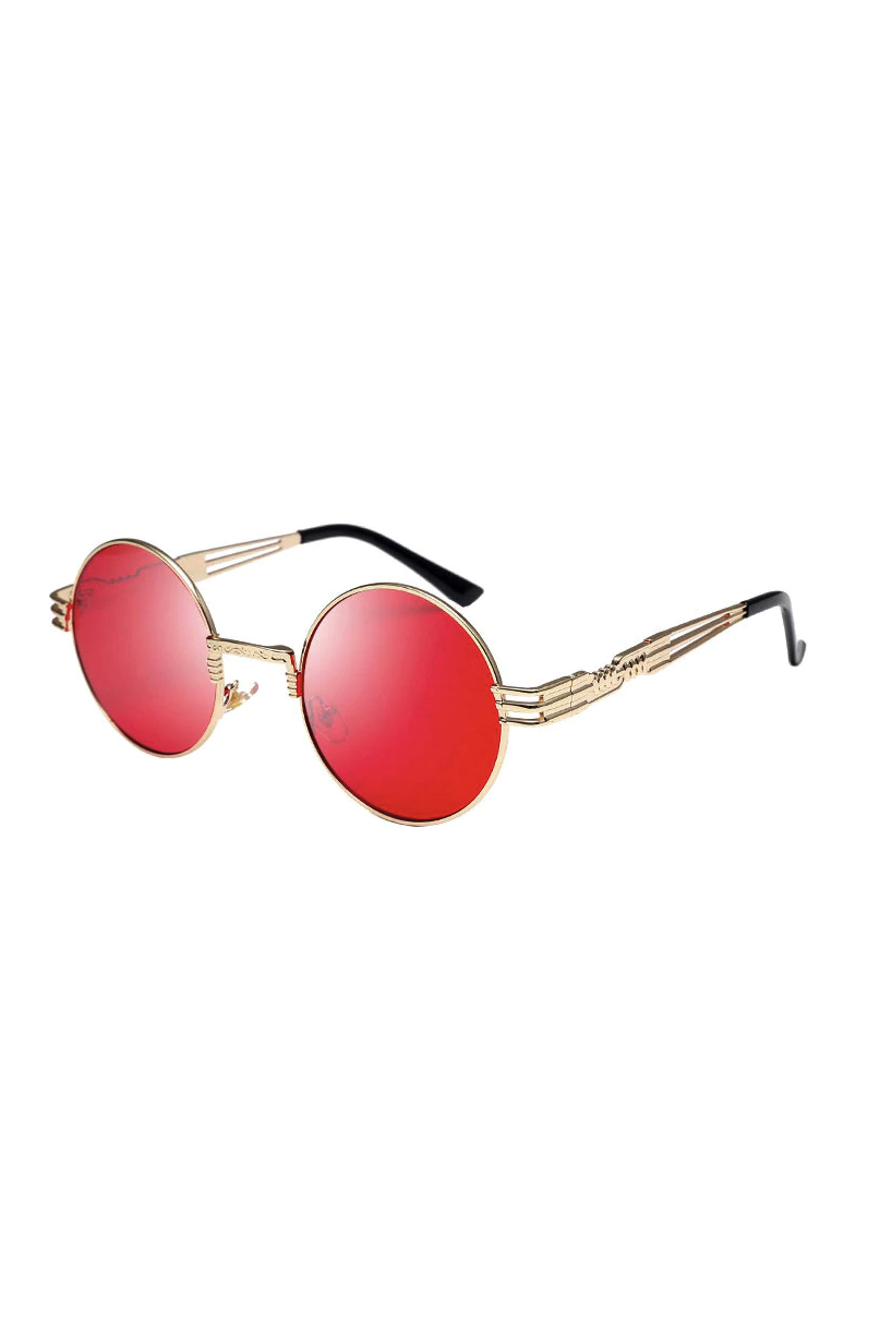 Steam Sunglasses Red