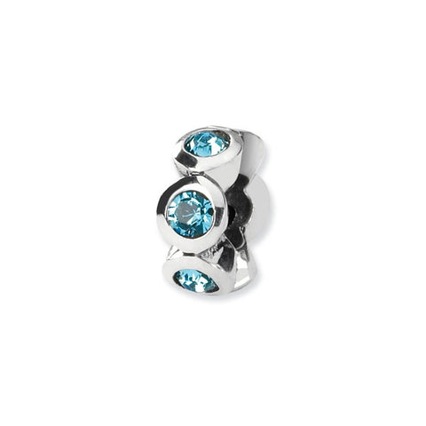 March Swarovski 6-Stone Bead