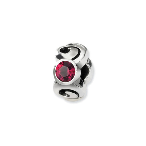 July Swarovski 3-Stone Bead