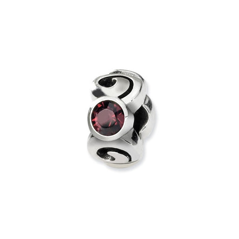June Swarovski 3-Stone Bead