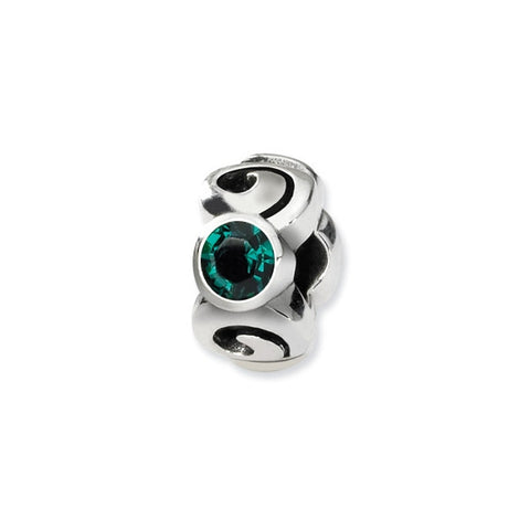 May Swarovski 3-Stone Bead