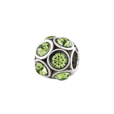 August Swarovski Birthstone Bead