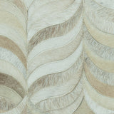 Feather Cowhide Rug