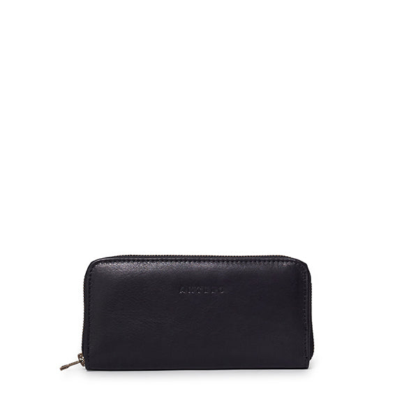 Antelo Hayley Leather Wallet - Black, Antelo Leather, [product-type] - Macaroon Collection