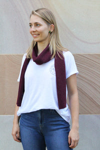 UQ Scarf Lambs Wool and Nylon