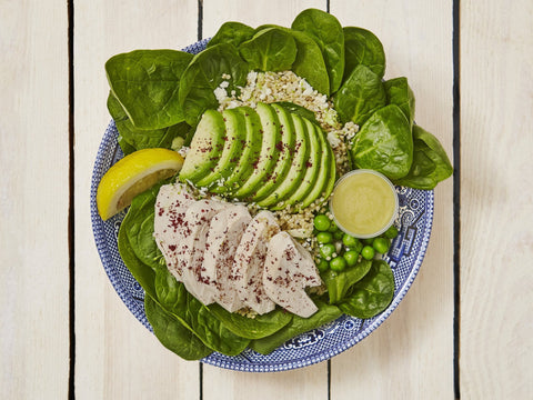 Poached Chicken & Avocado Box | Salad Days Online