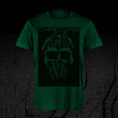 "Design Shirt ""Cypeskull"" Green"