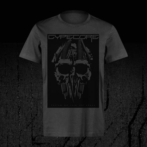 "Design Shirt ""Cypeskull"" Grey"
