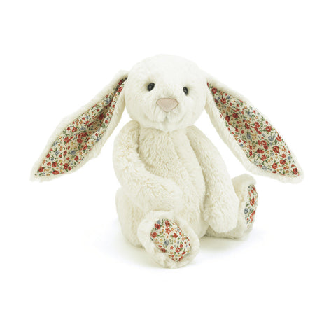 Bashful Blossom Cream Bunny - Medium