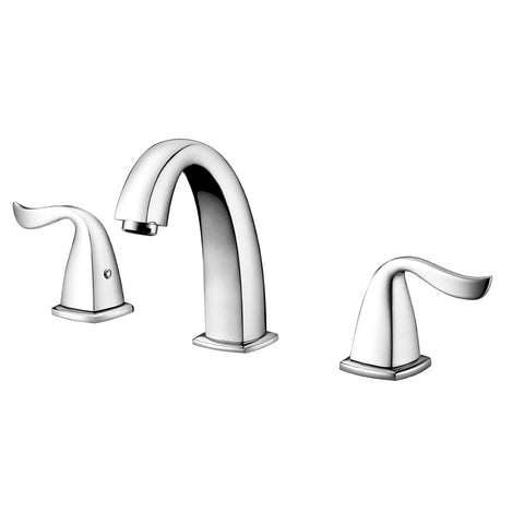 "AB04 1272C Dawn 8"" Centerset Widespread Lavatory Faucet with Two Lever Handles,"