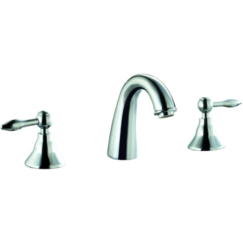 "AB13 1018C Dawn 8"" Centerset Widespread Lavatory Faucet with Two Lever Handles"