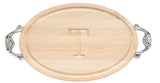 Grandbois Wood Monogram Cutting Board