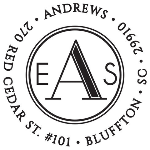 Andrews Personalized Self-Inking Stamp