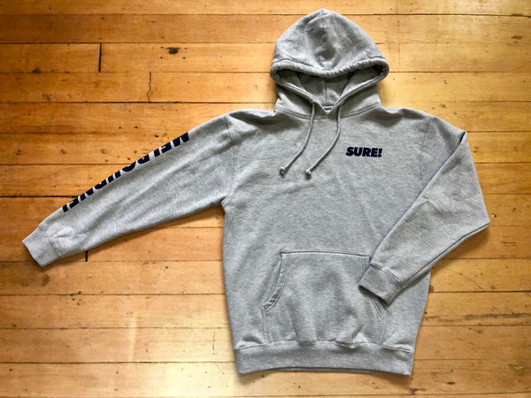 Melbourne Heavyweight Hood - Grey
