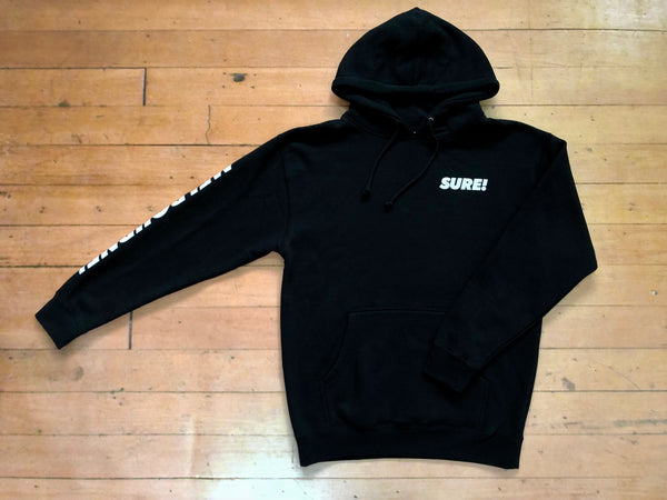 Melbourne Heavyweight Hood - Black