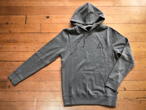 Triple Triangle Hoodie - Grey