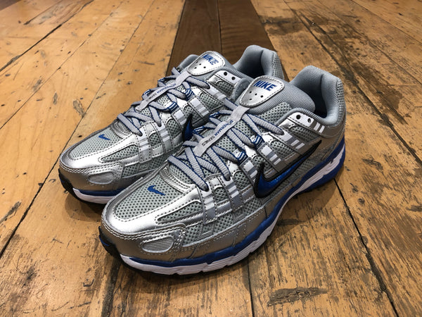 Women's Nike P-6000 - Metallic Silver/Team Royal