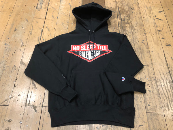 No Sleep Pullover Sweat - Black