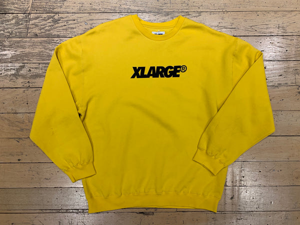 XL Text Crew - Gold