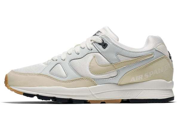 Women's Nike Air Span II - Sail/Barely Grey/Black/Fossil