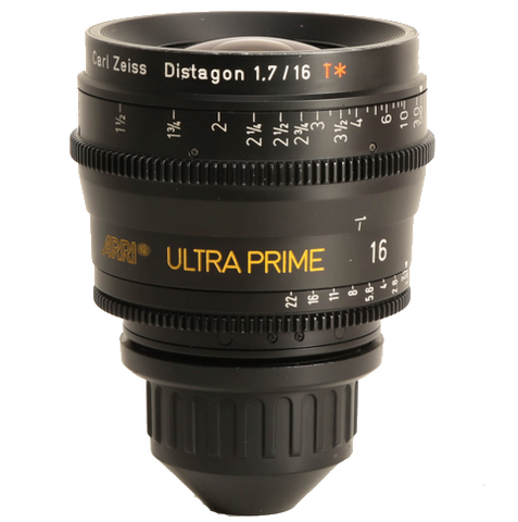 Arri-Zeiss PL Ultra Prime 16mm T1.9 Lens