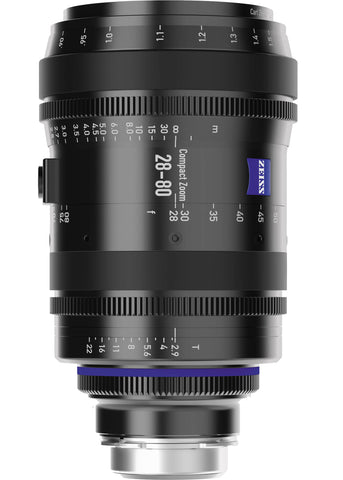 Zeiss EF/PL CZ.2 28mm-80mm T2.9 Zoom Lens