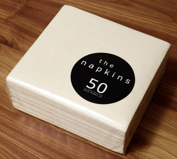 Deluxe Napkins 50 Piece Entertaining Pack - Champagne