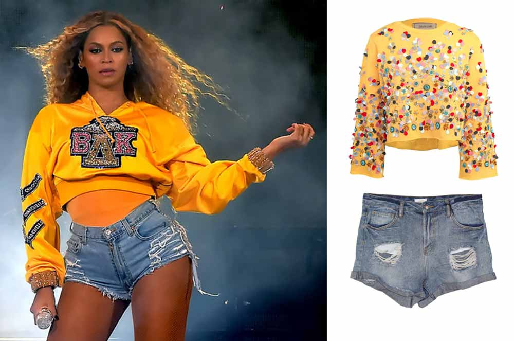 Beyoncé - Homecoming outfit inspired ideas | shop beyonce inspired outfit ideas on sale