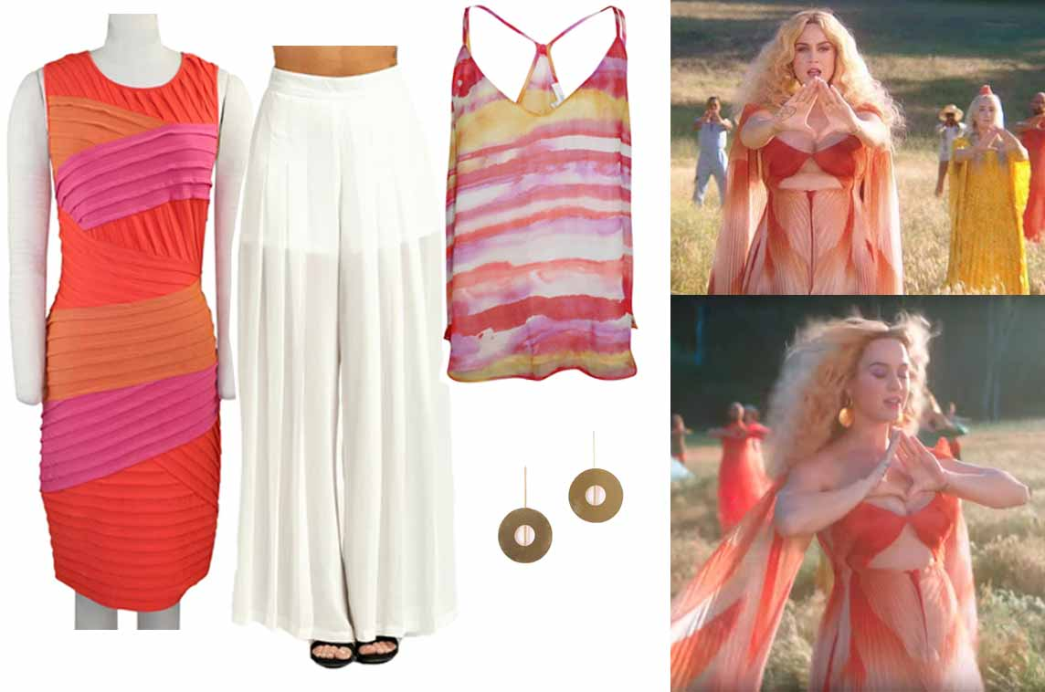 Katy Perry - Never Really Over inspired outfits