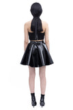 .01 Les Essentiels Bio Latex Skirt - Black
