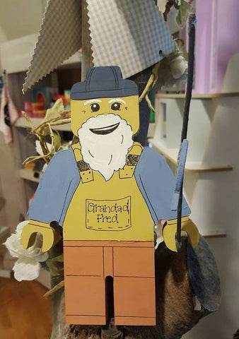 Personalised Superhero Legoman - Fisherman 7494