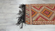 Bohemian Style Turkish Kilim Rugs Embroidered Patterns