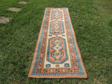 Hand knotted Turkish runner rug - bosphorusrugs  - 2