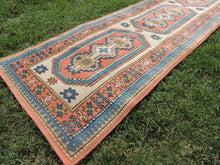 Hand knotted Turkish runner rug - bosphorusrugs  - 4