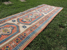 Hand knotted Turkish runner rug - bosphorusrugs  - 5