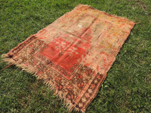 antique wool turkish rug