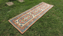 Hand knotted Turkish runner rug - bosphorusrugs  - 1